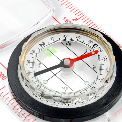 MATERIAL COMPASS WITH 110 mm RULLER