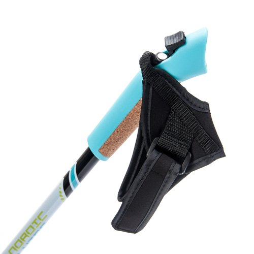 METEOR NORDIC WALKING 1-SECTION WITH UNPINNED GLOVES